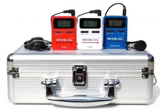 Рация Whis Competition набор из 1 передатчика и 2 гарнитур