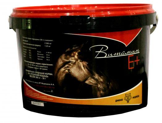 """Витамин Е+  2 кг и 4 кг  """"Дикий медведь"""""""