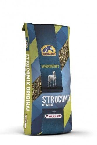 Strucomix Original мюсли с травами и низким содержанием белка 15 кг Cavalor