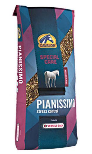 Pianissimo мюсли для горячих и беспокойных лошадей 20 кг Cavalor