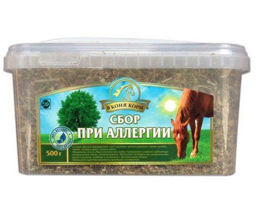 """Сбор При аллергии """"В коня корм"""" 500 гр"""