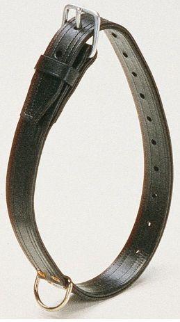 Неординарный ошейник для лошади W-Collar с золотом